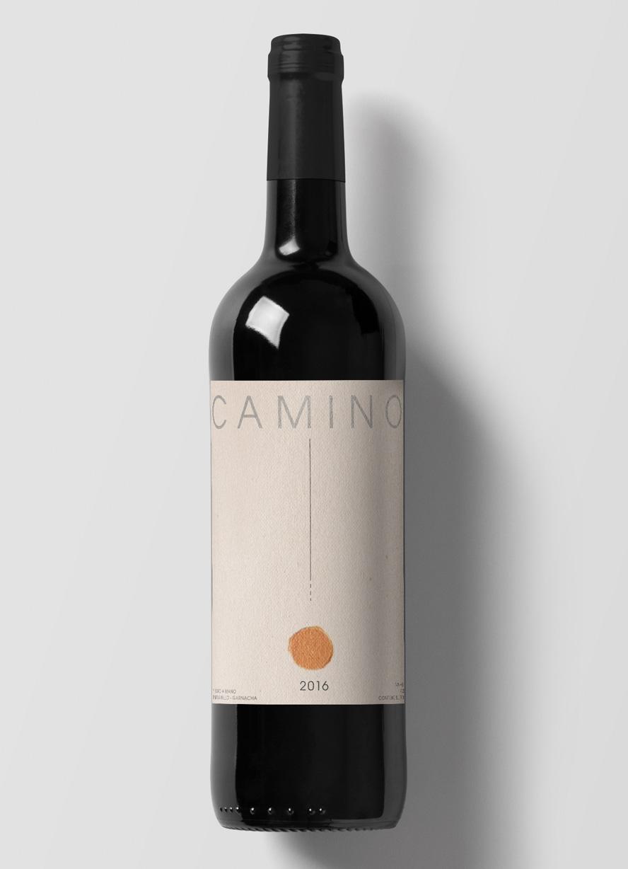 Diseño de etiqueta de vino Camino