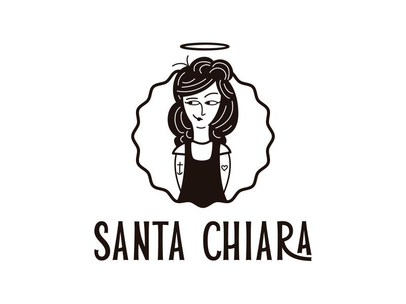Diseño de etiquetas de cerveza Santa Chiara