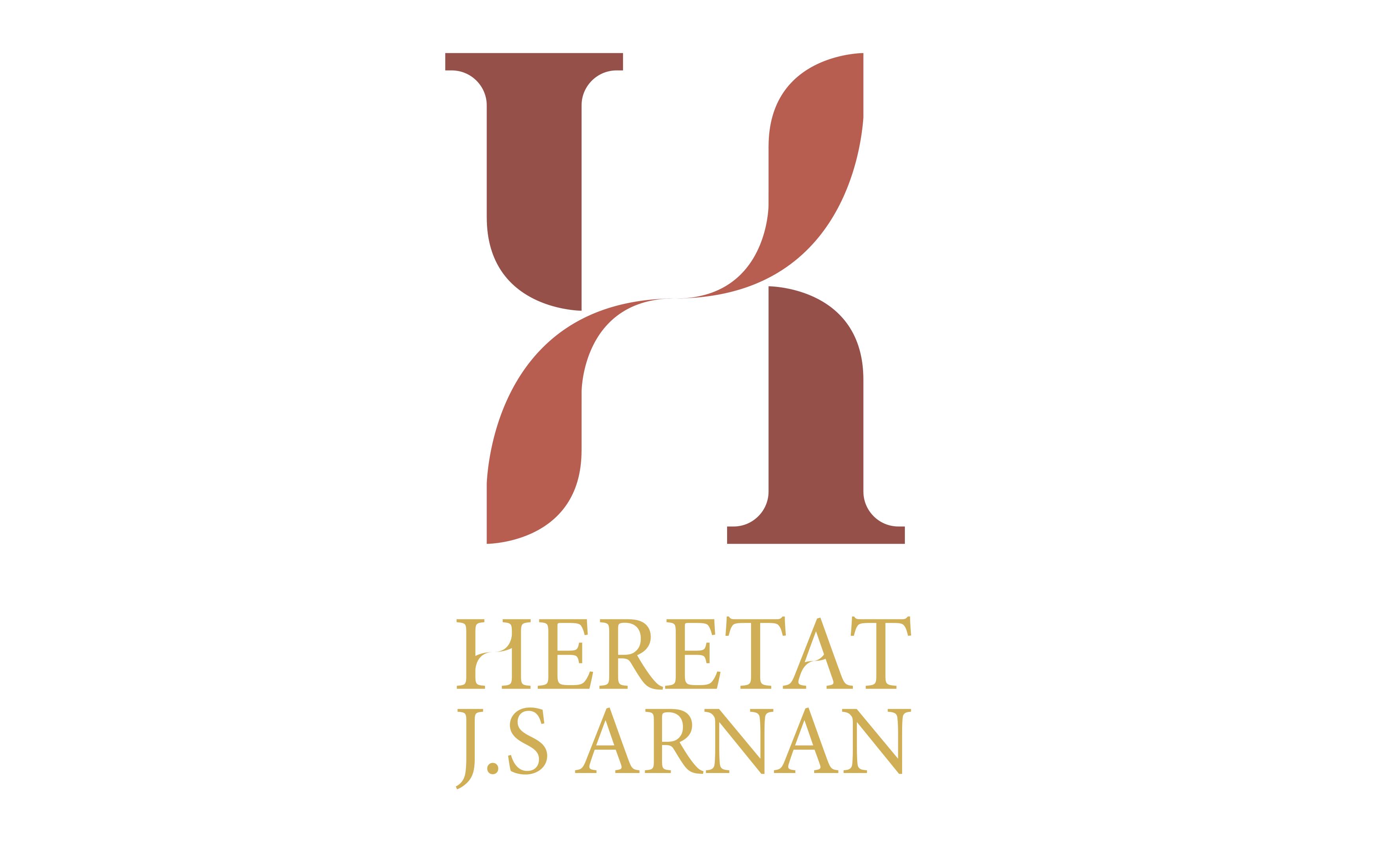 logotipo diseño de imagen de marca Heretat JS Arnan