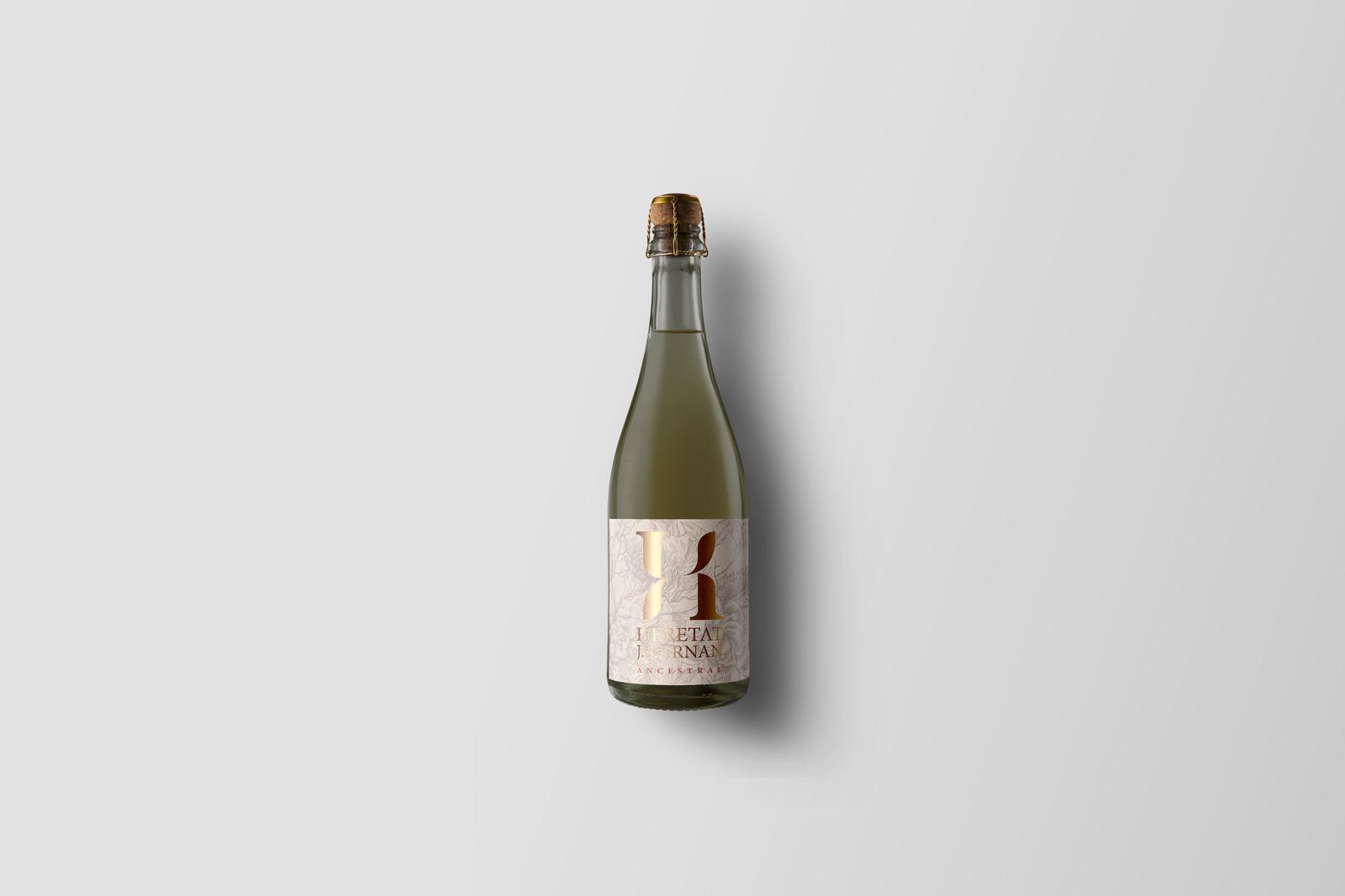 etiqueta para vino Ancestral