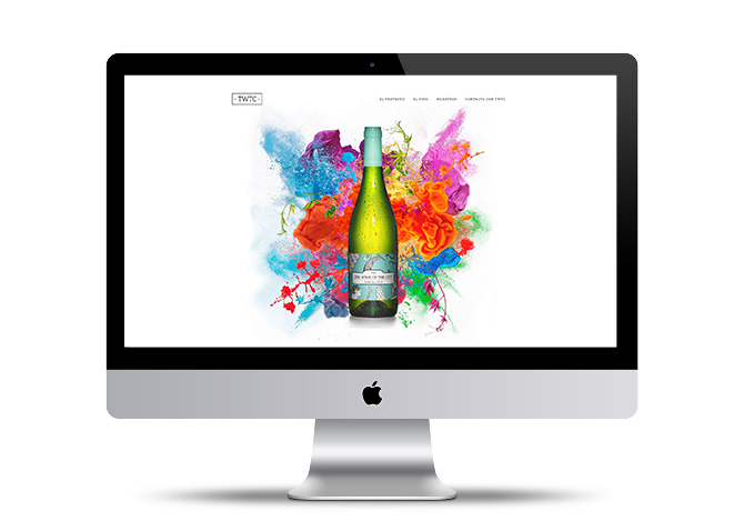 Diseño de páginas web The Wine of The City