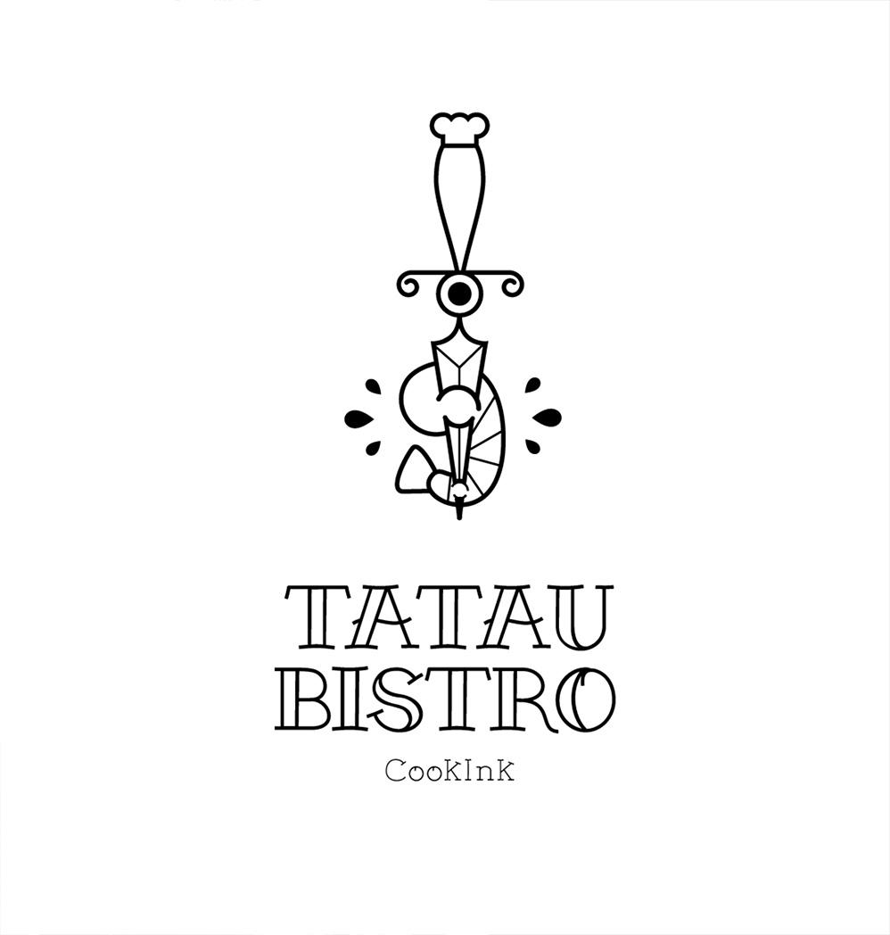 Diseño de imagen para restaurante Tatau Bistro