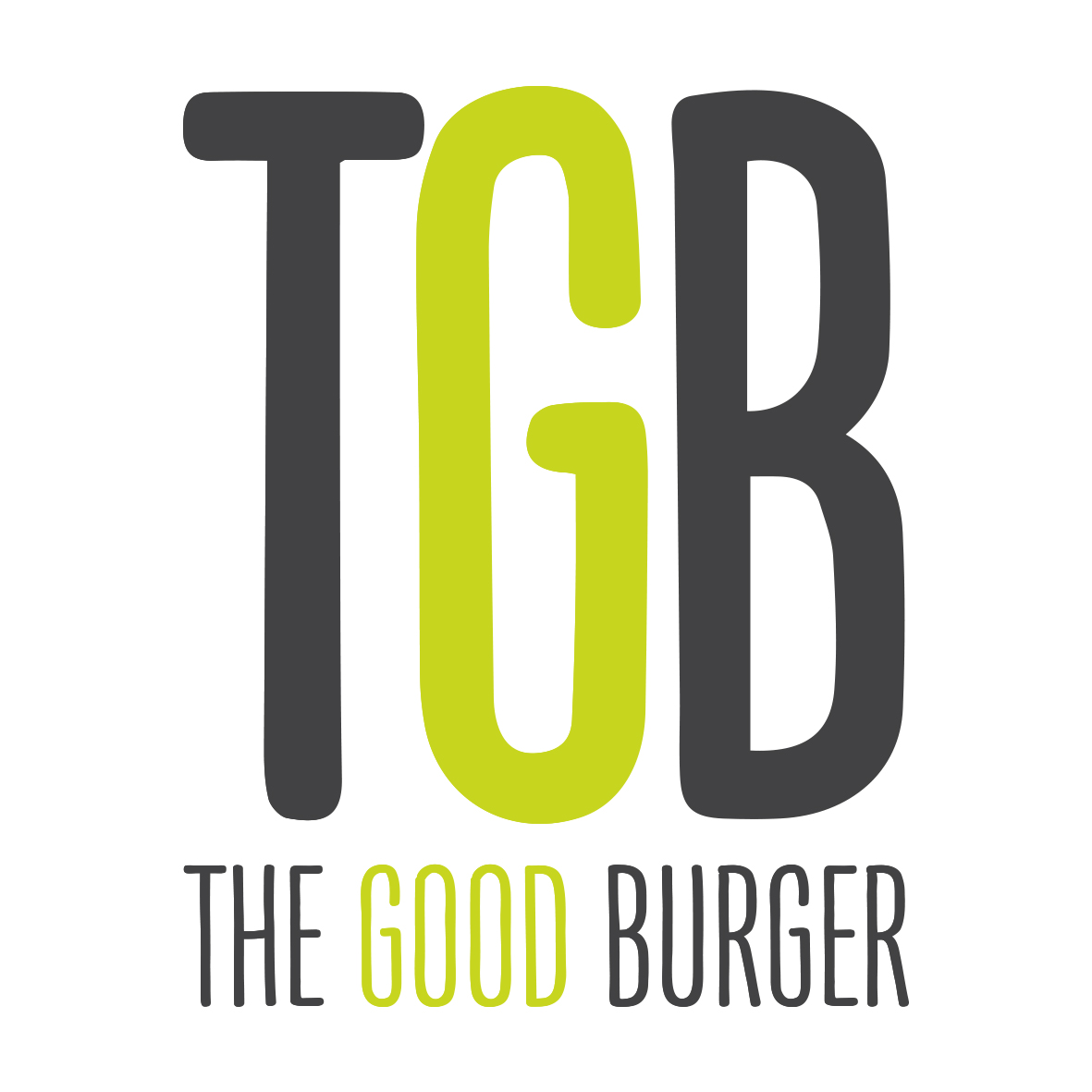 Diseño de restaurante The Good Burguer logotipo